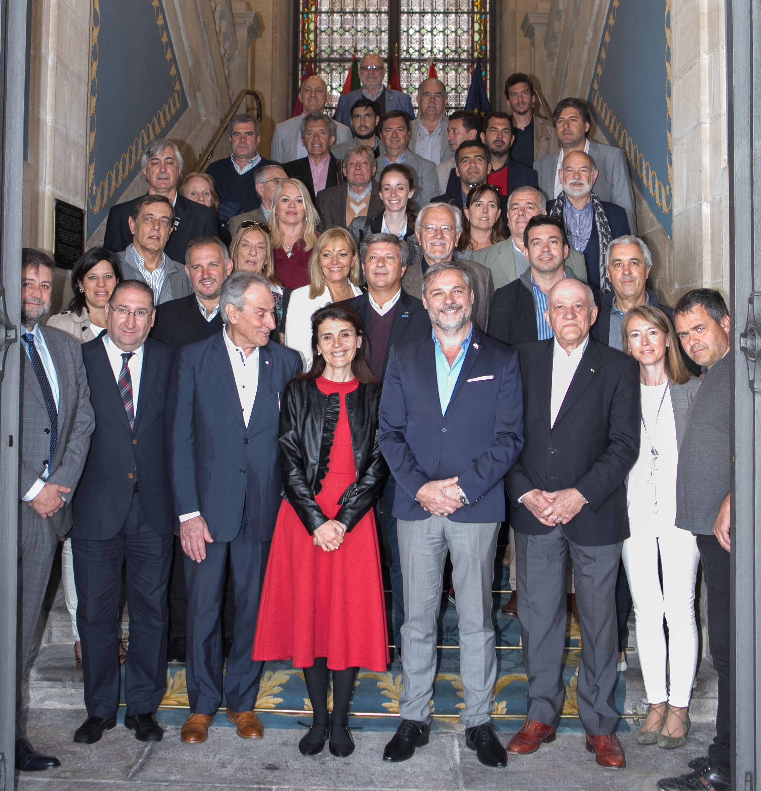 La Confederación Argentina de la Mediana Empresa (CAME) visita Vitoria-Gasteiz
