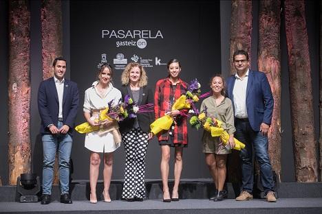 Entrega de premios Pasarela Gasteiz On Otoño-Invierno 2019