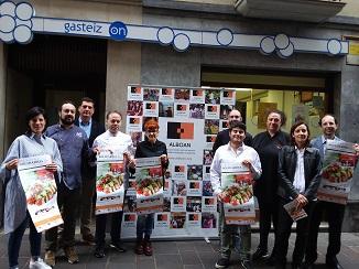 Presentación del Festival Gastro Solidarioa que se celebrará el 19 de octubre